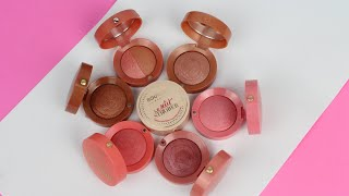 Bourjois Blushers | Review and Swatches | Angela van Rose