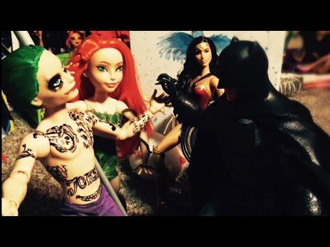 Batman & Wonder Woman vs. Joker, Harley Quinn, & Poison Ivy