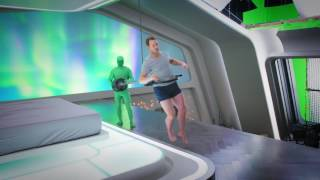 Фильм Пассажиры - Создание невесомости на кинокамеру HD