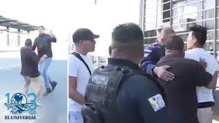 Captan agresión a reporteros en cobertura de accidente vehicular en Neza