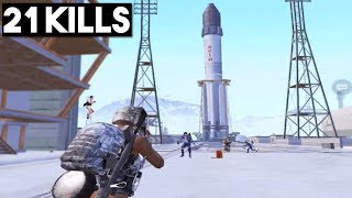 ROCKET STATION IS EPIC! | NEW SNOW MAP VIKENDI | PUBG Mobile