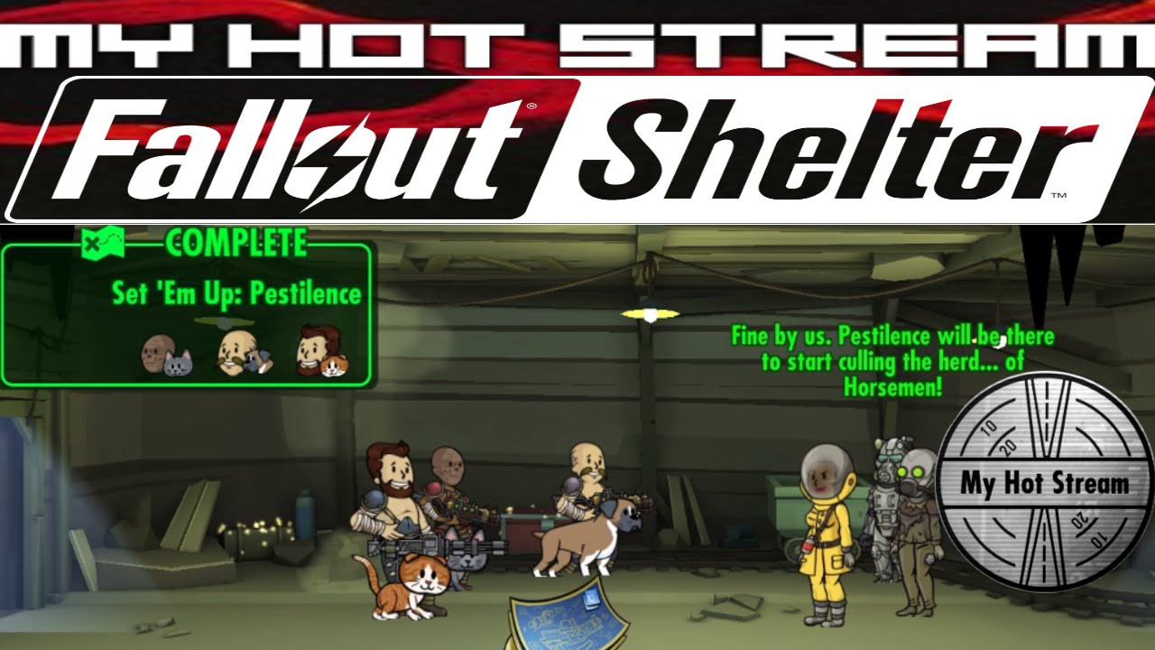 Fallout Shelter (PC) Overseer Quest (Set 'Em Up: Pestilence) 1/6