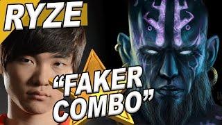 Faker Stream | Faker Ryze Solo Mid #9