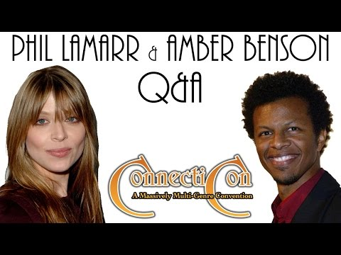 Phil LaMarr and Amber Benson Press Junket! ConnectiCon 2015