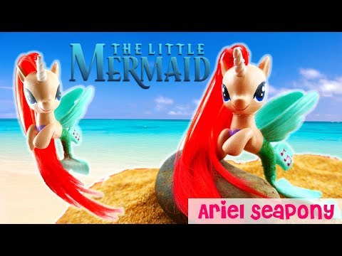 My Little Pony - Disney Little Mermaid Ariel Seapony Custom