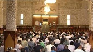 Prêche en mémoire d'Hervé Gourdel à la Grande mosquée d'Evry