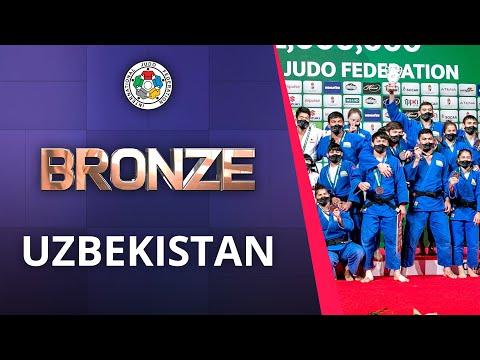 Uzbekistan Bronze of World Championships Teams 2021 in Budapest