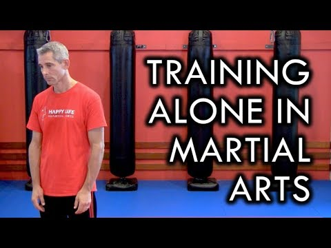 How to Practice Martial Arts Alone - Solo Training Tip
