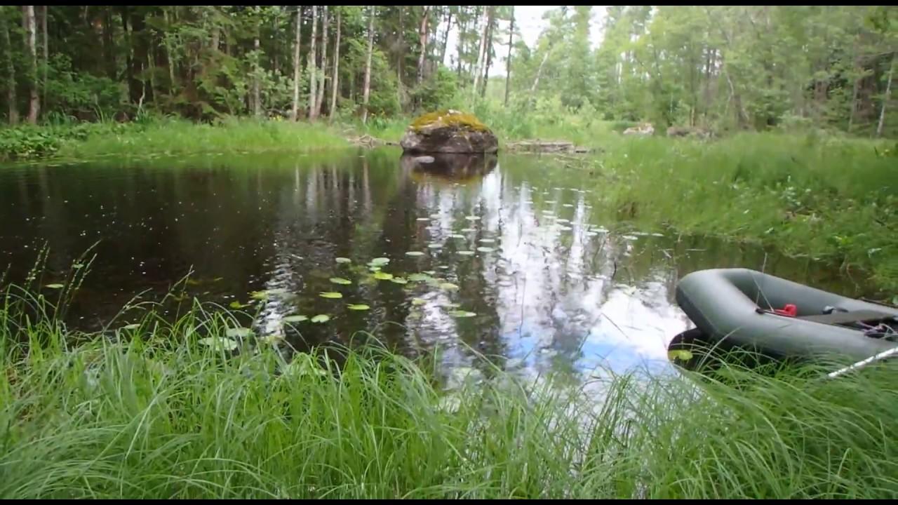 Покатушки с озера Губановское в озеро Градуевское 01.07.2017