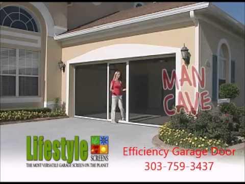 Garage Door Screen Sales In Denver Co 303 759 3437 Youtube