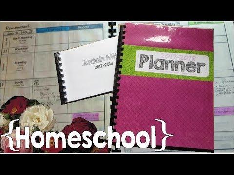 homeschool planners 2017 2018 large family homeschool youtube