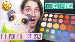 I Tried To Follow A James Charles Tutorial On A Squishy... thumbnail