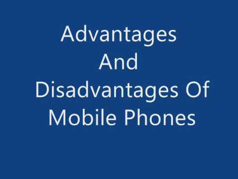 Presentation of mobile advantages and disadvantages
