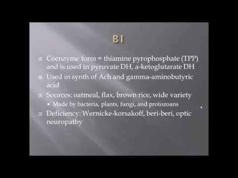 Vitamins A,B,C,D,E,K Summary