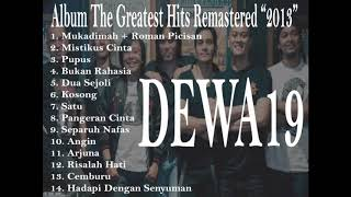 Dewa19 album The Greatest Hits Remastered (2013)