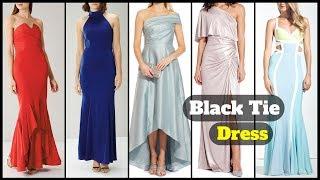 Latest trendy women's black tie dresses 2019 - Fashion updates