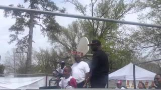 Corey J. aka Lil C-Note Live Outdoor Performance