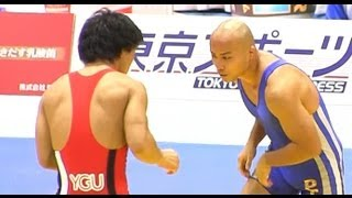 All Japan Wrestling championship 2012 (Greco 60kg 3R) 天皇杯 平成2...