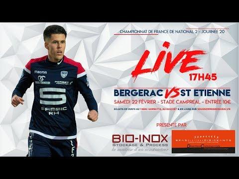 Bergerac Périgord FC - AS St Etienne 2