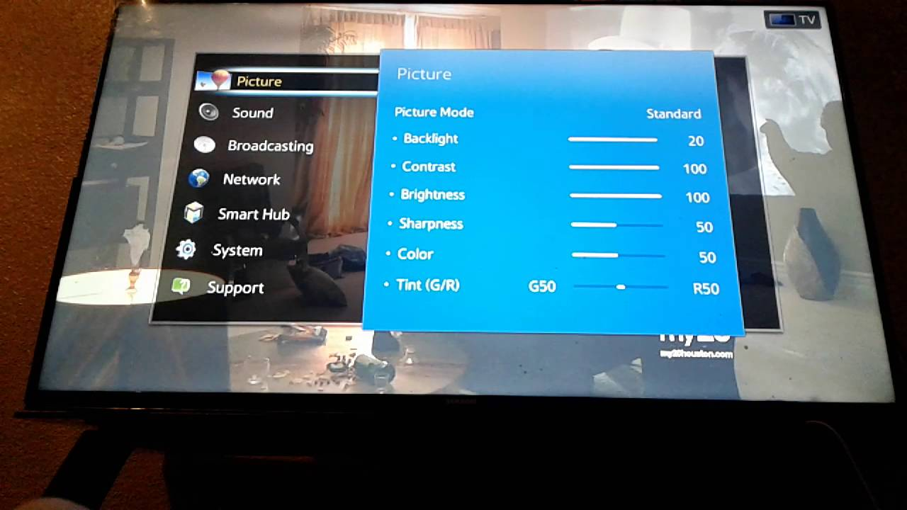How to reset your smart tv