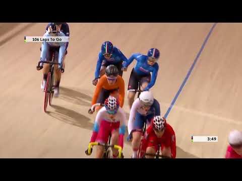 Women's Madison - 2018 UCI Track Cycling World Championships
