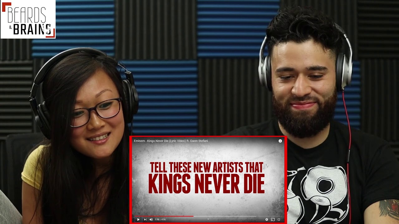 Eminem - Kings Never Die (Lyric Video) ft. Gwen Stefani - Music Reaction