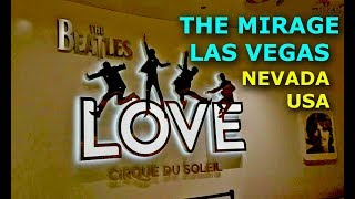 Video The Beatles Cirque du soleil at the Mirage Hotel & Casino Las Vegas March 2017 Video download MP3, 3GP, MP4, WEBM, AVI, FLV Agustus 2018
