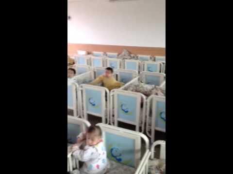 Orphanage baby room