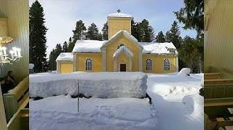Pääsiäisvirsien ja Siionin laulujen ilta Ristijärven kirkossa 31 3