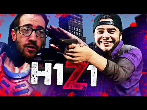 FIRST Z2 GAME WITH BIGTYMER, HE'S BACK! | H1Z1 #25