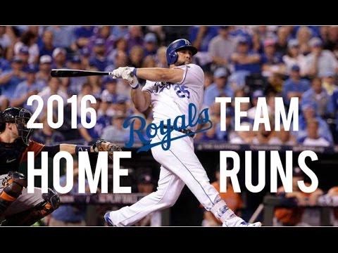 Kansas City Royals | 2016 Home Runs (147)