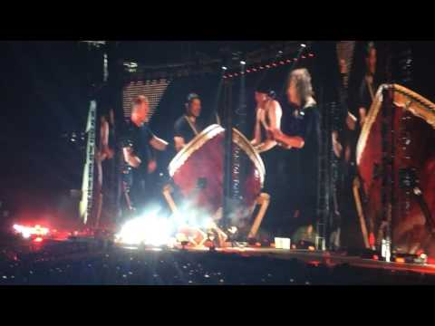 "METALLICA ""Drum Jam"" (June 14, 2017: San Antonio, Texas)"