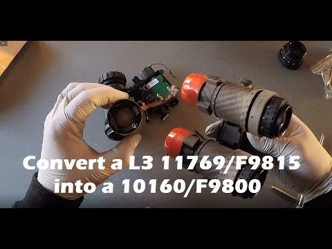 Converting a L3 11769 tube into 10160 format