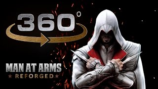 Grinding The Sword of Altair in 360° - Assassin's Creed - MAN AT ARMS: REFORGED