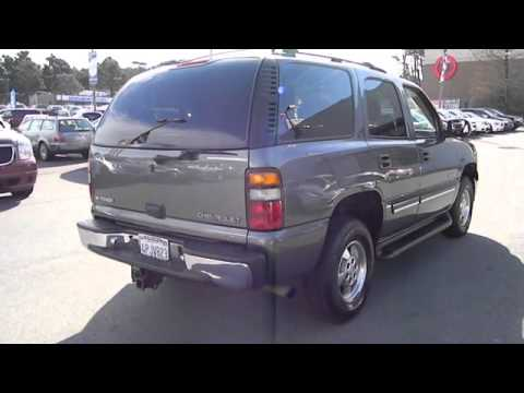used 2001 chevrolet tahoe for sale san francisco daily city pacifica san bruno colma ca youtube. Black Bedroom Furniture Sets. Home Design Ideas
