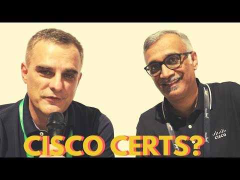 Future of Cisco Certifications: The start. Interview with Yusuf Bhaiji (Global Cisco Certifications)