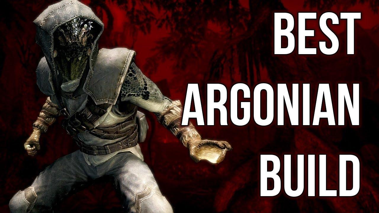e23b9172c047 The Wanderer - Best Argonian Build - Skyrim Builds - YouTube