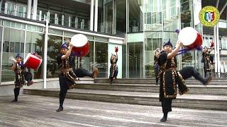 松本歯科大学エイサー集団アルプスによる演舞