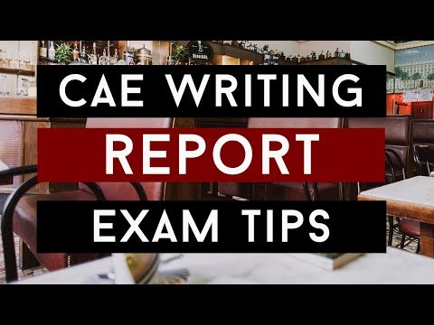 How To Write A Report For CAE