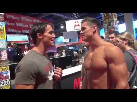 Greg Plitt and IFBB Pro Logan Franklin