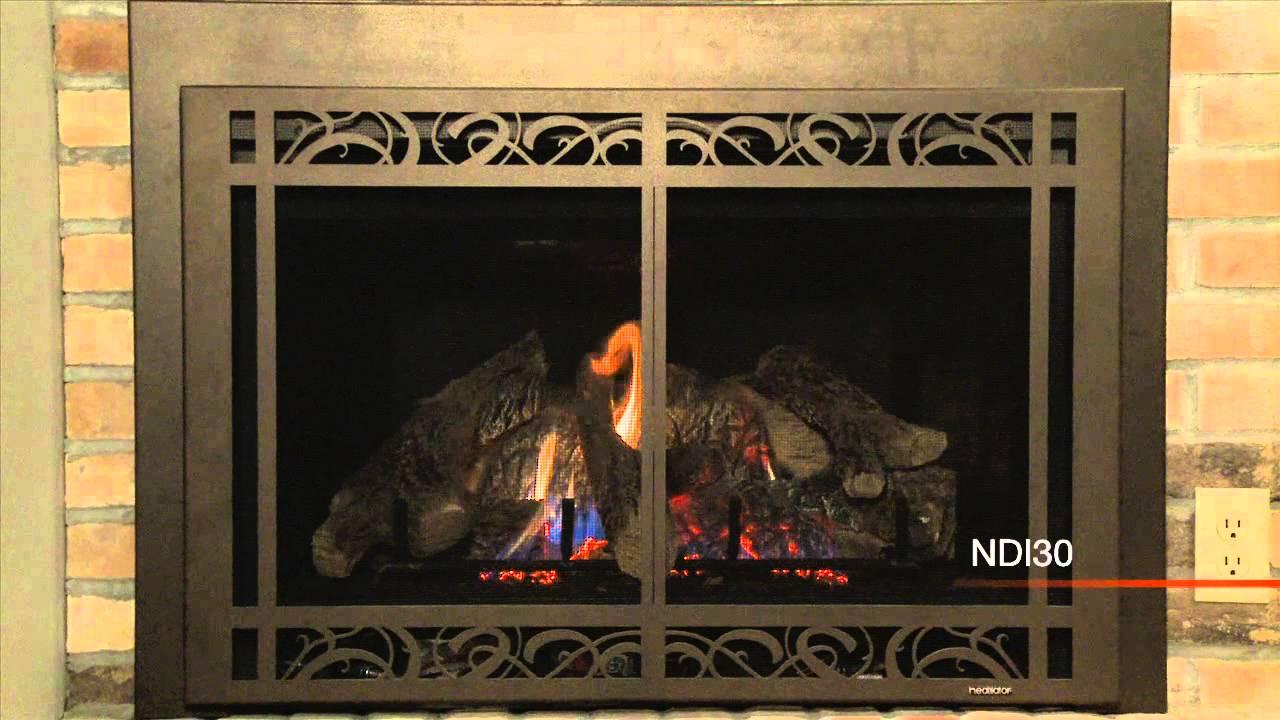 heatilator ndi gas insert video youtube