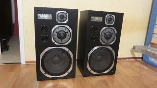 Yamaha NS-1000M Speakers Restoration