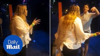 Girl catches her boyfriend at a strip club using Snapchat tracker - Daily Mail