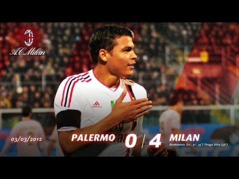 Palermo-Milan 0-4