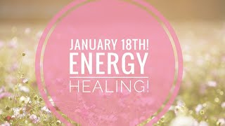 Daily card & energy clearing Jan 18th! Light activation!