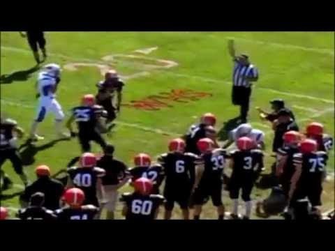 Dylan Hutchinson Junior Year Football Highlights   YouTube
