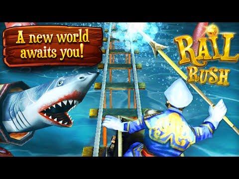 Rail Rush - Undersea World!