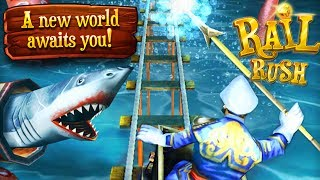 Rail Rush - Undersea World!