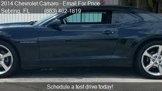2014 Chevrolet Camaro LT 2dr Coupe w/1LT for sale in Sebring