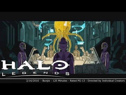 Trailer do filme Halo Legends